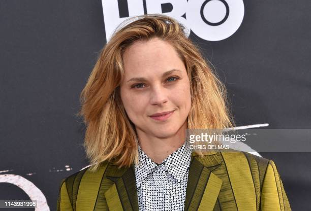 US actress Fiona Dourif arrives for the Los Angeles premiere of HBO Films Deadwood at the Cinerama Dome in Hollywood on May 14 2019