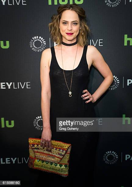 "Actress Fiona Dourif arrives for the PaleyLive LA - ""Dirk Gently's Holistic Detective Agency"" Premiere Screening And Conversation at The Paley Center..."