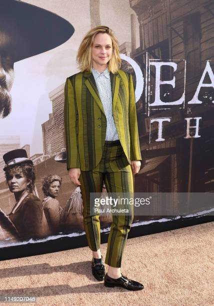 Actress Fiona Dourif attends the LA premiere of HBO's Deadwood at The Cinerama Dome on May 14 2019 in Los Angeles California