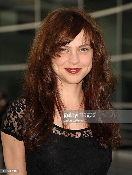 Actress Fiona Dourif attends the premiere of HBO's True Blood at ArcLight Cinemas Cinerama Dome on June 21 2011 in Hollywood California