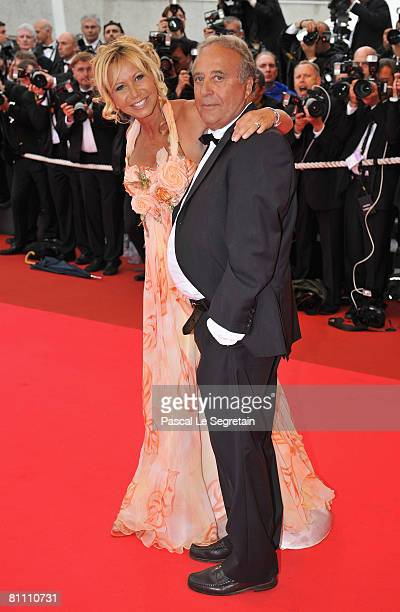 Actress Fiona Gelin arrives at the Un Conte De Noel Premiere at the Palais des Festivals during the 61st International Cannes Film Festival on May 16...