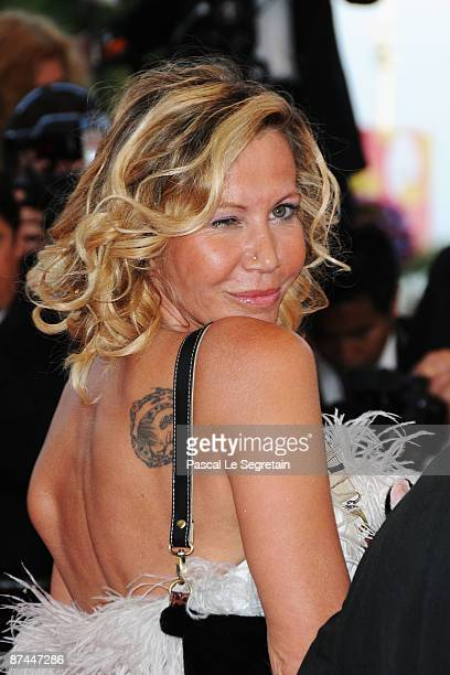 Actress Fiona Gelin attends the Vengeance Premiere at the Palais Des Festivals during the 62nd International Cannes Film Festival on May 17 2009 in...