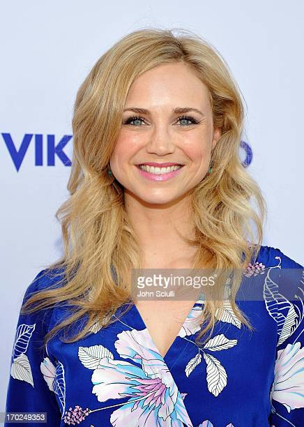 Actress Fiona Gubelmann arrives at the 1st Annual Children Mending Hearts Style Sunday on June 9 2013 in Beverly Hills California