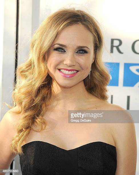 Actress Fiona Gubelmann arrives at The Hidden Heroes Gala presented by Mercy For Animals at Unici Casa on August 29 2015 in Culver City California