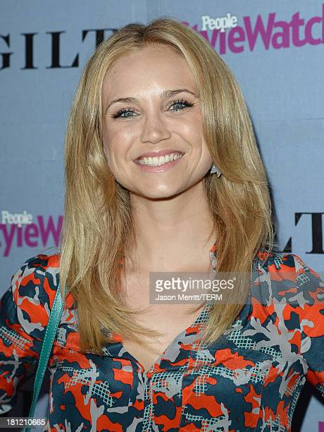 Actress Fiona Gubelmann attends People StyleWatch Denim Awards presented by GILT at Palihouse on September 19 2013 in West Hollywood California