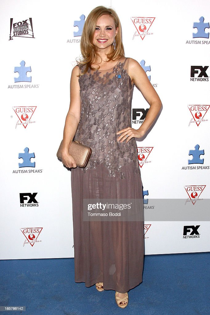 Actress Fiona Gubelmann attends the Autism Speaks 3rd annual 'Blue Jean Ball' held at Boulevard3 on October 24, 2013 in Hollywood, California.