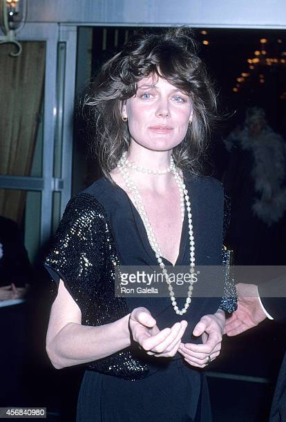 Actress Fiona Lewis attends the Sixth Annual American Film Institute Lifetime Achievement Award Salute to Henry Fonda on March 1 1978 at the Beverly...