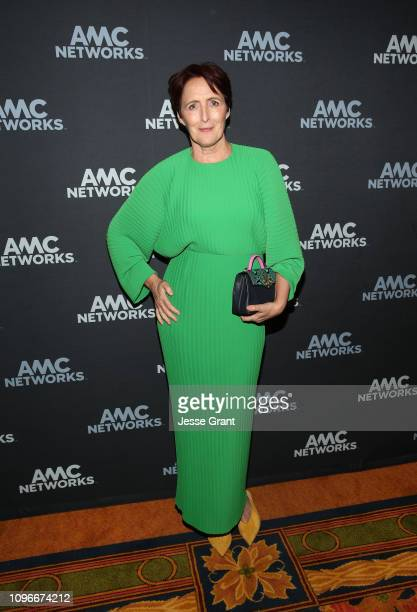 Actress Fiona Shaw attends the AMC portion of the 2019 Winter TCA on February 9 2019 in Pasadena California