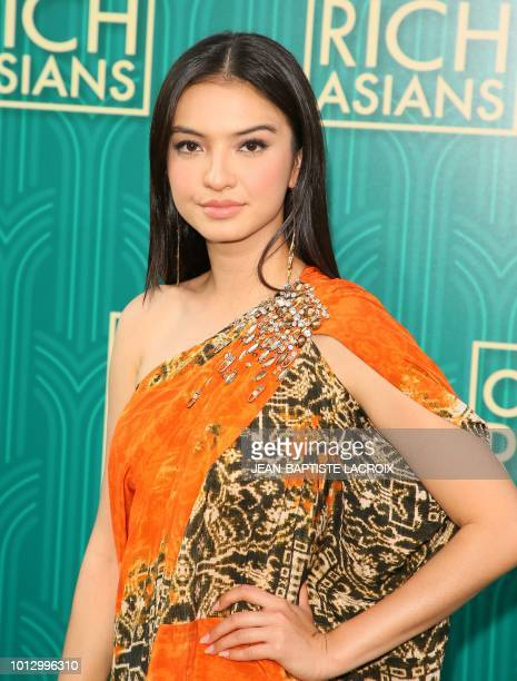 Actress Fiona Xie attends the premiere of Warner Bros Pictures' 'Crazy Rich Asians' in Hollywood California on August 7 2018