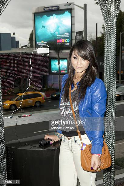 Actress Fivel Stewart attends The Studio at HAVEN360 Day 1 at Andaz on February 25 2011 in West Hollywood California