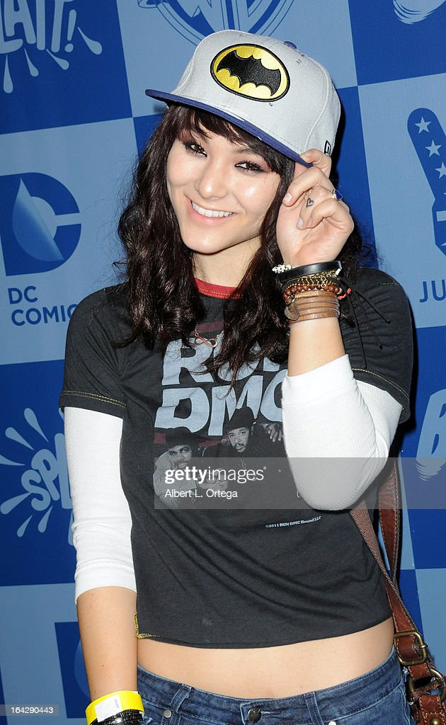 Actress Fivel Stewart attends the Warner Bros. Consumer Products And Junk Food Celebrate The Launch Of The Batman Classic TV Series Licensing Program held at Meltdown Comics and Collectibles on March 21, 2013 in Hollywood, California.