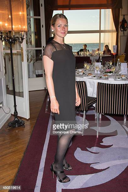 Actress Fleur Lise Heuet attends the 28th Cabourg Film Festival Opening Ceremany on June 12 2014 in Cabourg France