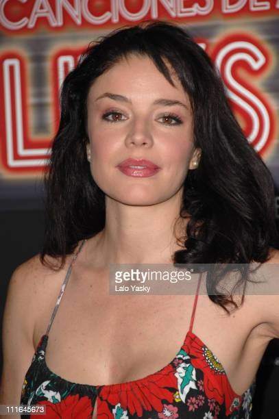 Actress Flora Martinez attends a photocall for Canciones de Amor en Lolitas Club at ME Hotel on November 26 2007 in Madrid Spain