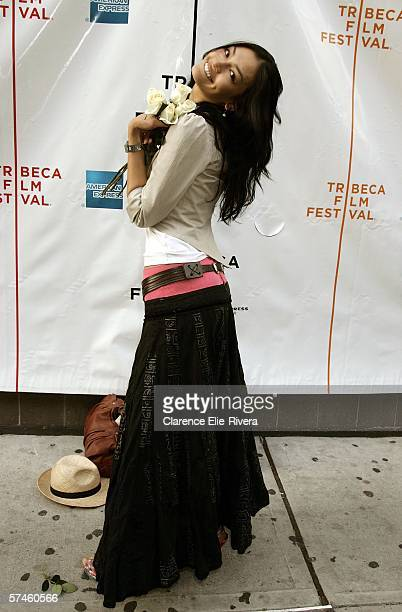 Actress Florence Faivre attends the premiere of 'The Elephant King' during the 5th Annual Tribeca Film Festival April 26 2006 in New York City