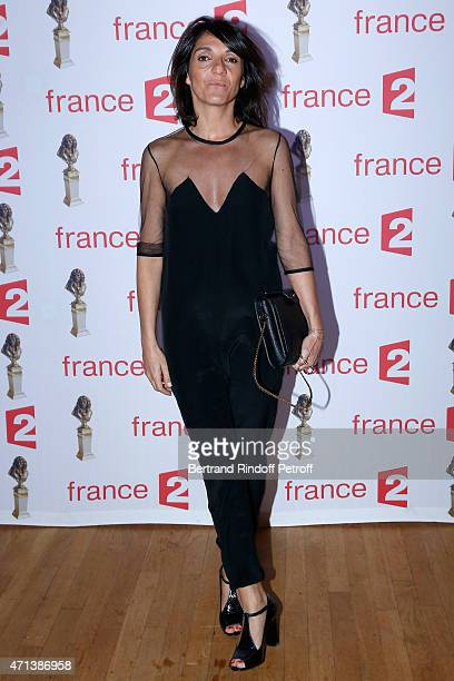 Actress Florence Foresti attend the 27th 'Nuit Des Molieres' 2015 Held at Folies Bergere on April 27 2015 in Paris France