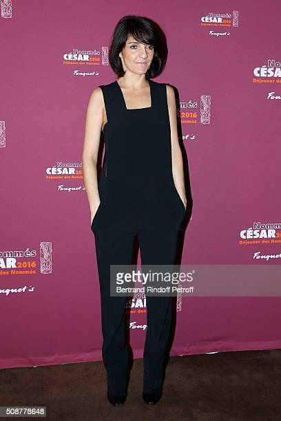 Actress Florence Foresti attends 'Cesar 2016 Nominee Luncheon' at Le Fouquet's on February 6 2016 in Paris France