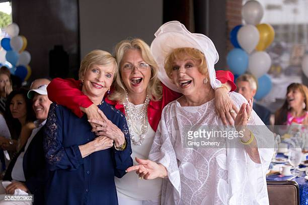 Actress Florence Henderson Actress Ann Jillian and Actress Ruta Lee attend The Thalians Presidents Club Anchors Away Brunch at the California Yacht...