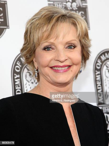 Actress Florence Henderson arrives at the 41st Annual Academy of Magical Arts Inc Awards held at the Hollywood Avalon on March 8 2009 in Hollywood...