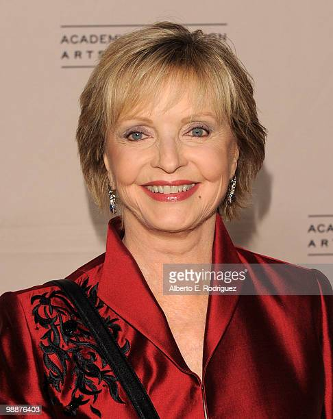 Actress Florence Henderson arrives at the Academy of Television Arts Sciences' 3rd Annual Academy Honors at the Beverly Hills Hotel on May 5 2010 in...