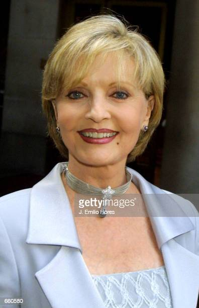 Actress Florence Henderson arrives at the California Design College on June 6 2002 for the 11th Annual Graduation Fashion Show in Los Angeles...