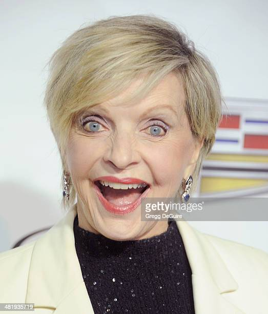 Actress Florence Henderson arrives at The Music Center's 50th Anniversary launch party at Dorothy Chandler Pavilion on April 1 2014 in Los Angeles...