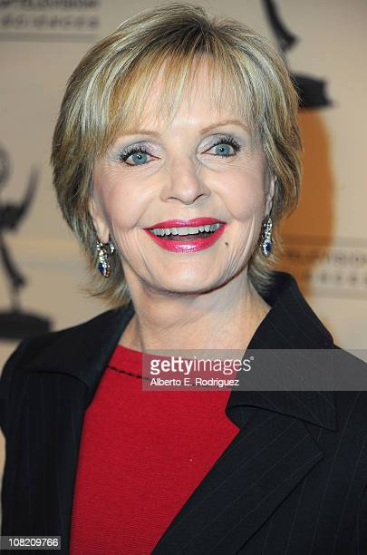 Actress Florence Henderson arrives to the Academy of Television Arts Sciences' Hall of Fame Committe's 20th Annual Induction Gala on January 20 2011...