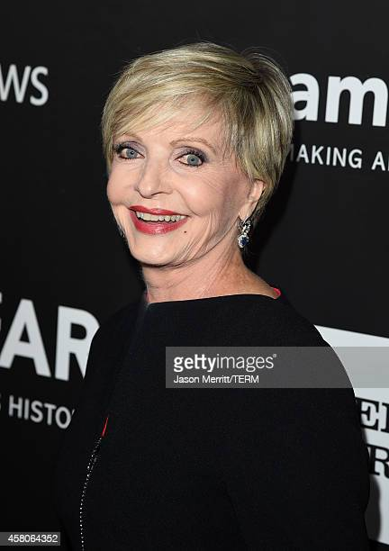 Actress Florence Henderson attends amfAR LA Inspiration Gala honoring Tom Ford at Milk Studios on October 29 2014 in Hollywood California