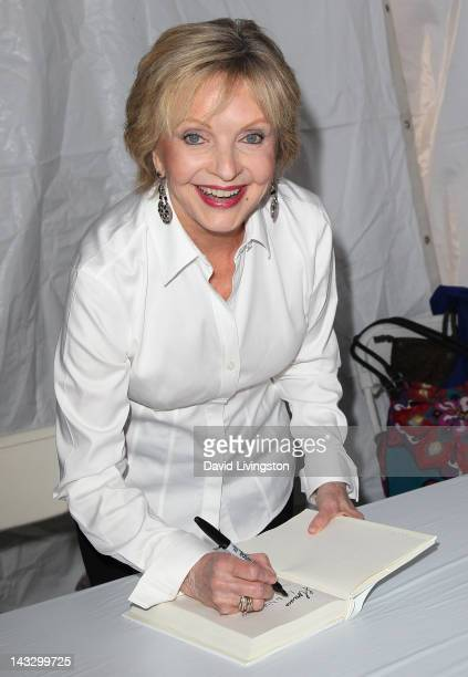 Actress Florence Henderson attends the 17th Annual Los Angeles Times Festival of Books Day 2 at USC on April 22 2012 in Los Angeles California