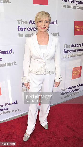 Actress Florence Henderson attends the Actors Fund's 18th annual Tony Awards Party on June 8 2014 at the Skirball Center in Los Angeles California