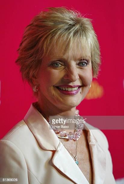Actress Florence Henderson attends the 'Women Rock' Lifetime Television's 5th annual concert for the fight against breast cancer at the Wiltern LG on...
