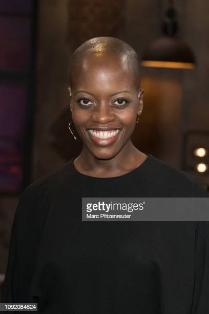Actress Florence Kasumba attends the Koelner Treff TV Show at the WDR Studio on February 1 2019 in Cologne Germany