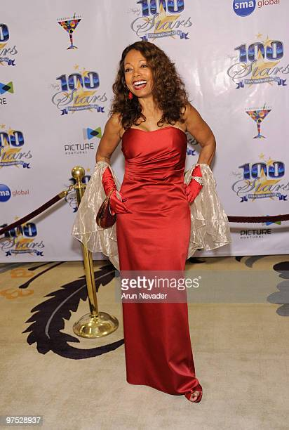 Actress Florence La Rue attends The 20th Annual Night Of 100 Stars Awards Gala at Beverly Hills Hotel on March 7 2010 in Beverly Hills California