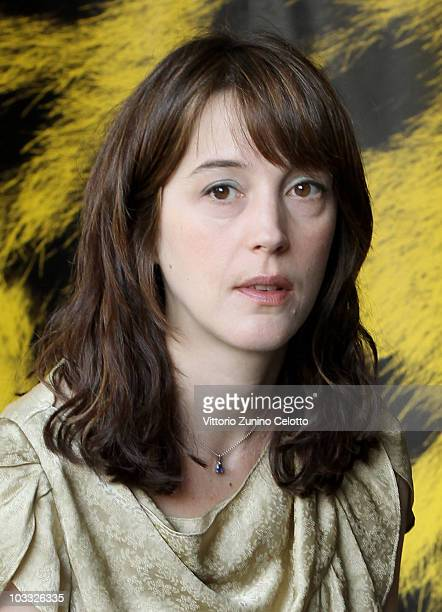Actress Florence Loiret Caille attends La Petite Chambre photocall during the 63rd Locarno Film Festival on August 9 2010 in Locarno Switzerland