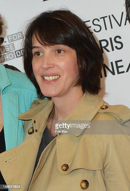 Actress Florence Loiret Caille attends 'The Queen of Montreuil' Premiere Festival Paris Cinema 2012 at the MK2 Bibliotheque on July 7 2012 in Paris...