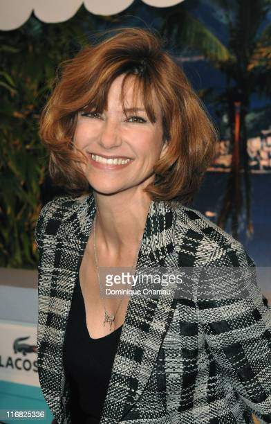 Actress Florence Pernel attends OSS 117 Rio Ne Repond Plus Premiere on April 7 2009 at Cinema Gaumont Capucines in Paris France
