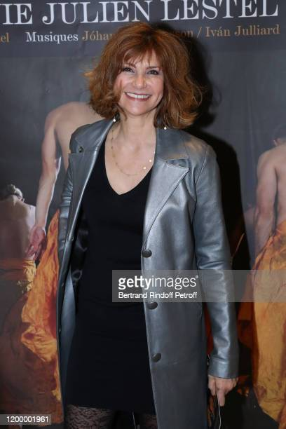 Actress Florence Pernel attends the Exceptional performance of Dream Compagnie Julien Lestel at Salle Pleyel on January 16 2020 in Paris France