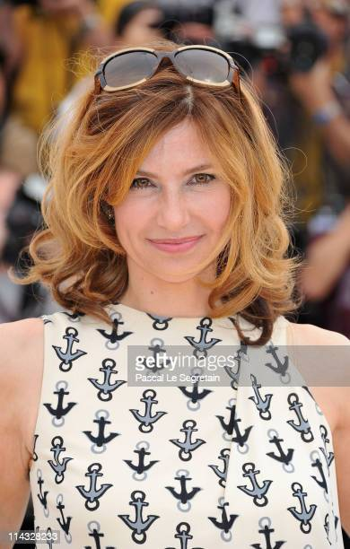 Actress Florence Pernel attends the La Conquete photocall at the Palais des Festivals during the 64th Cannes Film Festival on May 18 2011 in Cannes...
