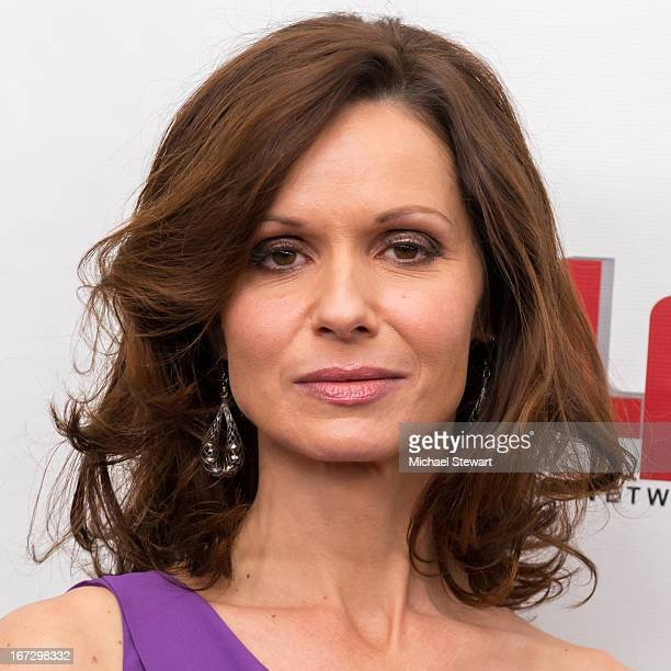 """Actress Florencia Lozano attends the """"All My Children"""" & """"One Life To Live"""" premiere at Jack H. Skirball Center for the Performing Arts on April 23,..."""