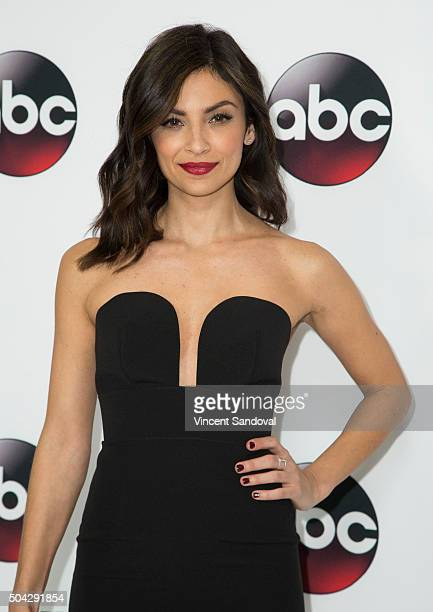 Actress Floriana Lima attends the 2016 Winter TCA Tour Disney/ABC at Langham Hotel on January 9 2016 in Pasadena California