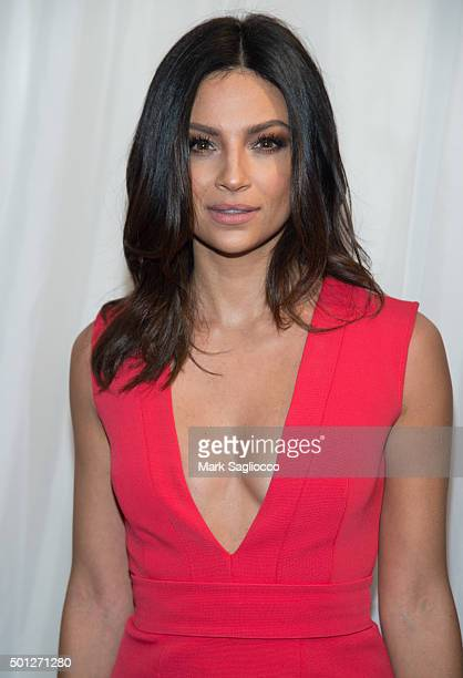 Actress Floriana Lima attends the Joy New York premiere at the Ziegfeld Theater on December 13 2015 in New York City