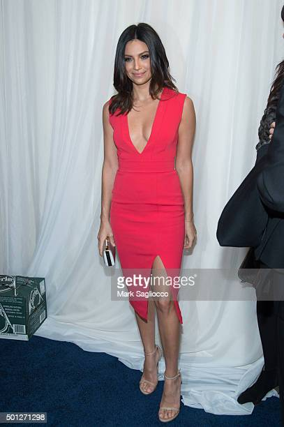 Actress Floriana Lima attends the 'Joy' New York premiere at the Ziegfeld Theater on December 13 2015 in New York City