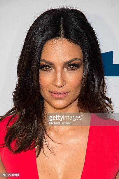 Actress Floriana Lima attends the 'Joy' New York Premiere at Ziegfeld Theater on December 13 2015 in New York City