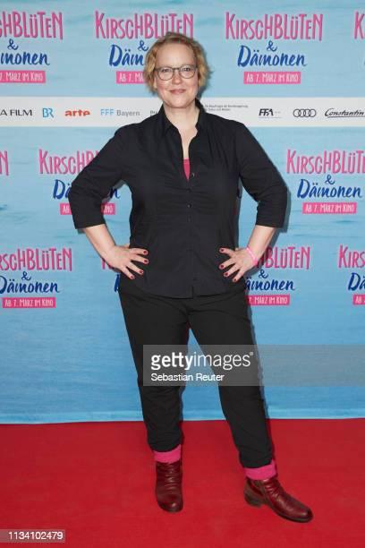 Actress Floriane Daniel attends the Family Friends Screening for the movie Kirschblueten Daemonen at Kino in der Kulturbrauerei on March 06 2019 in...