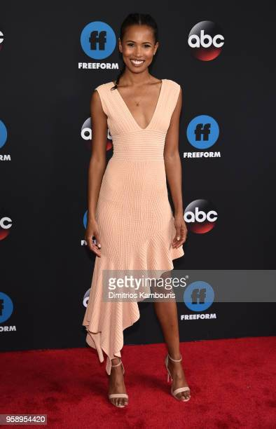 Actress Fola EvansAkingbola attends during 2018 Disney ABC Freeform Upfront at Tavern On The Green on May 15 2018 in New York City