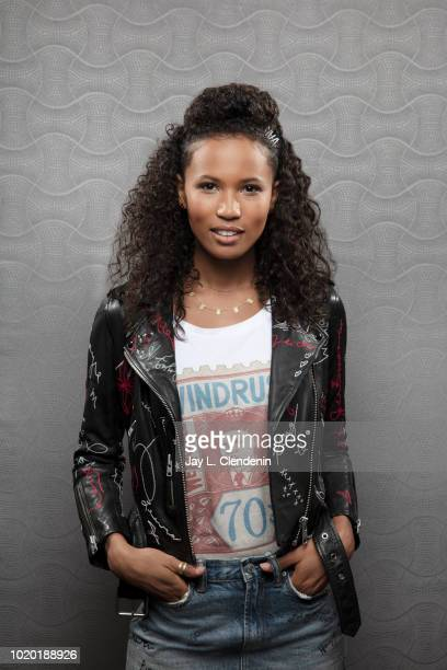 Actress Fola EvansAkingbola from 'Siren' is photographed for Los Angeles Times on July 19 2018 in San Diego California PUBLISHED IMAGE CREDIT MUST...