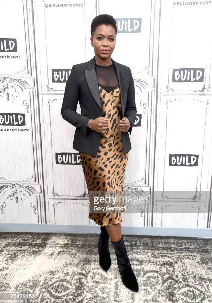 """Actress Folake Olowofoyeku visits the Build Series to discuss the CBS series """"Bob Hearts Abishola""""at Build Studio on September 09 2019 in New York..."""
