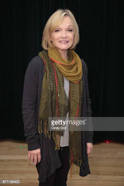 Actress/ former gymnast Cathy Rigby participates in Kris Kringle The Musical preview presentation at Ripley Greer Studios on November 21 2017 in New...