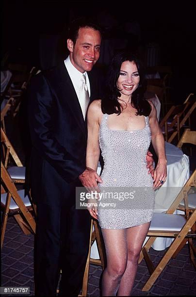 Actress Fran Drescher and husband Peter Marc Jacobson