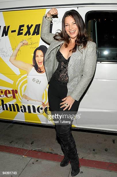 Actress Fran Drescher arrives at 1 HEART Inc's 'Million Dollar Revival' benefit for Drescher's Cancer Schmancer Movement to battle breast cancer at...
