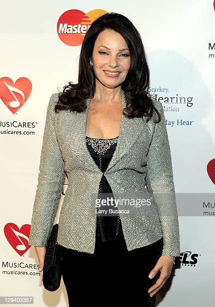 Actress Fran Drescher arrives at 2011 MusiCares Person of the Year Tribute to Barbra Streisand at Los Angeles Convention Center on February 11, 2011...
